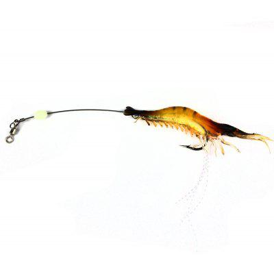 Simulation Shrimp Style Fishing Hook Bait Lure