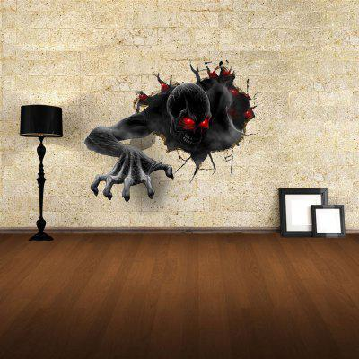 Devil 3D Wall Art Stickers Home Appliances Decoration