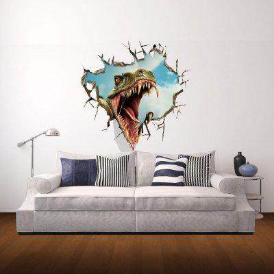 Dinosaur Pattern Home Appliances Decoration 3D Wall Sticker