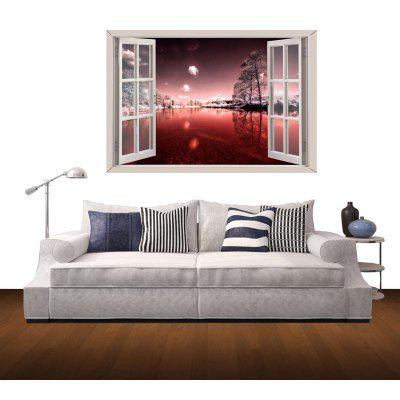 Marvellous Night Pattern Home Appliances Decoration 3D Wall Sticker
