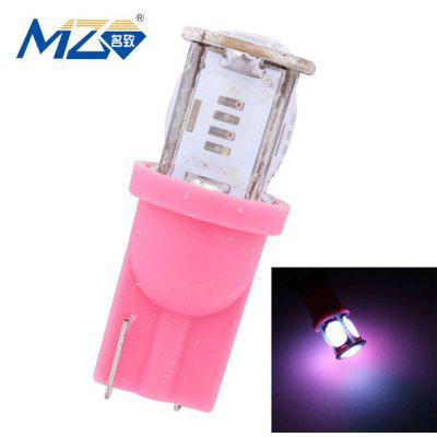 Buy PINK MZ 12V T10 COB 5W LED Pink Light Car Bulb LED Width / Clearance Lamp 325 Lumens for $1.38 in GearBest store