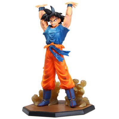 15.5cm Dragon Ball Son Gokou PVC Action Figure Janpanese Anime Character Model Toy