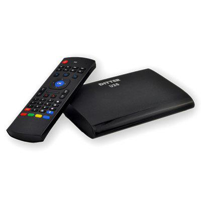DITTER U26 TV Box HDMI WiFi 512MB / 8GB Android 4.4.2 RK3128 Quad Core 2.4GHz Remote Controller