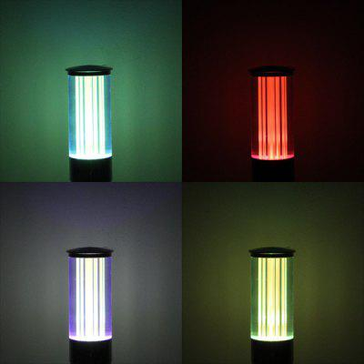 YouOKLight E27 3W Tubular Crystal RGB Bulb Light with Remote Control