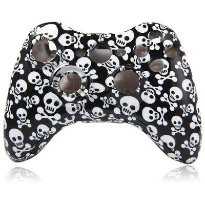 Scrawl Skull Head Style Case for XBOX 360 Wireless Game Joypad