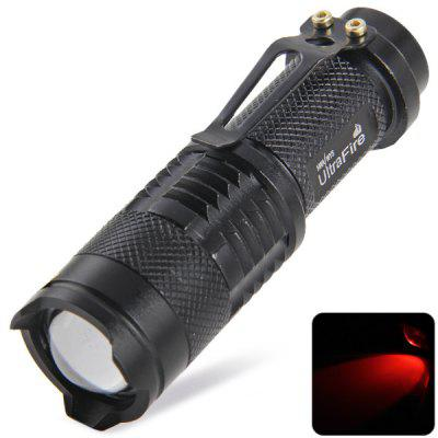 UltraFire SK68 Cree Q5 3 Modes Red Light Water - resistant LED Laser Flashlight