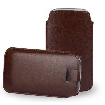 Practical Vertical Phone Bag Storage Pouch of PU Material for Samsung Galaxy S6 G9200