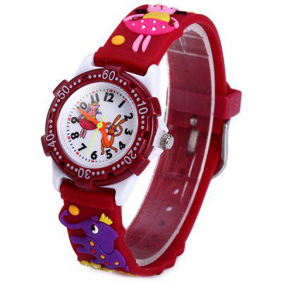 Animal Pattern Kids Quartz Watch Analog Wristwatch