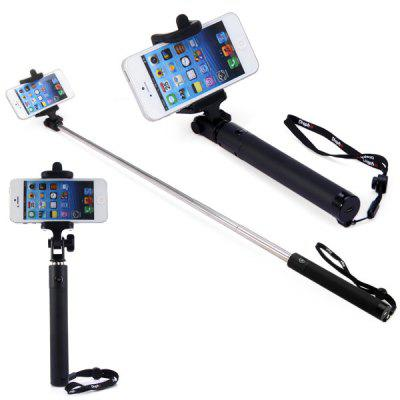 Bluetooth Wireless RC Self Timer Stretch Camera Monopod with 270 Degrees Rotating Clip Stand