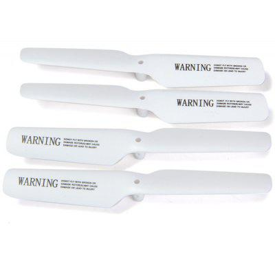 Spare Blade Set Fitting for JJRC H8D H8C H12C H12W-A H12W H12C-5 RC Quadcopter  -  4Pcs / Set