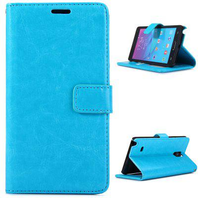Practical PU and PC Material Magnetic Snap Design Cover Case for Samsung Galaxy Note 4 N9100