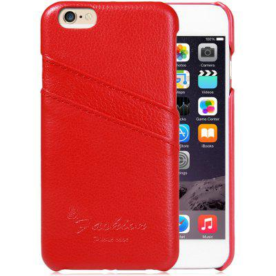 Back Cover Case with Litchi Texture Design  Credit Card Holder