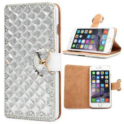 PU and PC Material Diamond Design Protective Cover Case for iPhone 6  -  4.7 inch