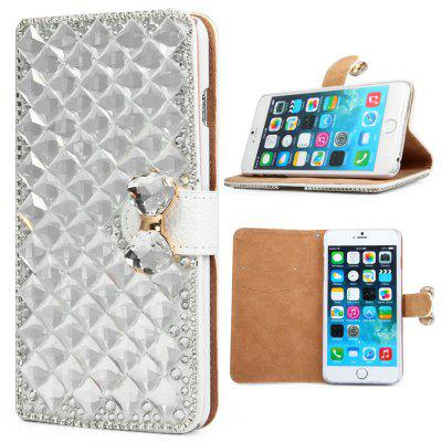 PU and PC Material Diamond Design Protective Cover Case for iPhone 6 Plus  -  5.5 inch
