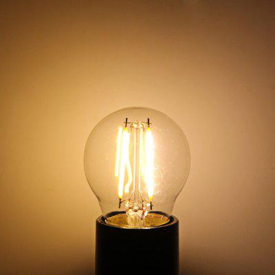 YouOKLight E27 1.8W 180LM 3000K Edison COB Globe Bulb LED Filament Light