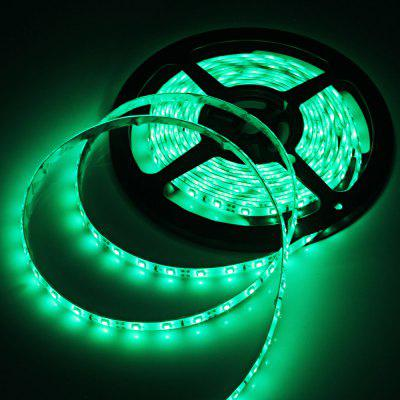 5M 1200LM 24W SMD 3528 300 LEDs RGB Ribbon Light Water - resistant Strip Lamp  -  DC 12V