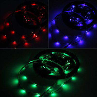 5M 1200LM 24W SMD 3528 300 LEDs Decorative RGB LED Ribbon Light DC 12 / 24V