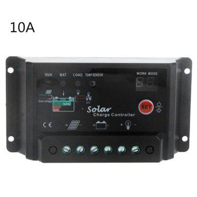 tstb 10a 12 24v solar charge controller with light timer control function online. Black Bedroom Furniture Sets. Home Design Ideas