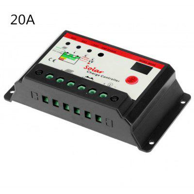 TSMT  -  20A 12 / 24V Solar Charge Controller with Light Timer Control Function