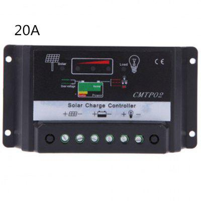 TSTP02  -  20A 12V / 24V Solar Controller Auto Regulator for Home Industry Supplies