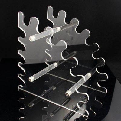 12 Slots Acrylic Electronic Cigarette Display Stand Shelf