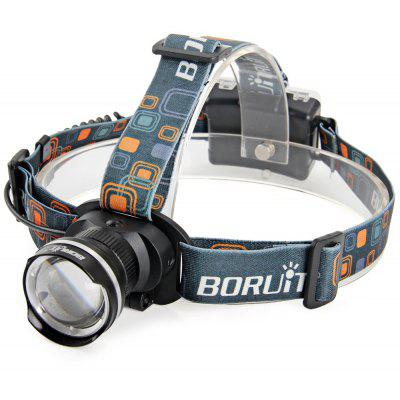 Boruit RJ - 2166 Cree XML - T6 1200Lm 3 Modes Zoomable AA LED Headlight