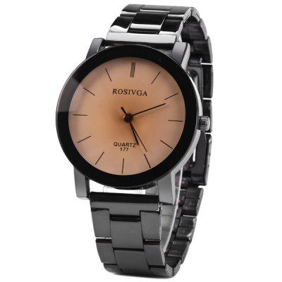 Rosivga 177 Male Quartz Watch with Round Dial