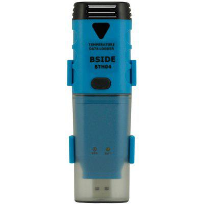 BSIDE BTH04 Temperature Dew Point Data Logger IP66 Water Resistant USB Input