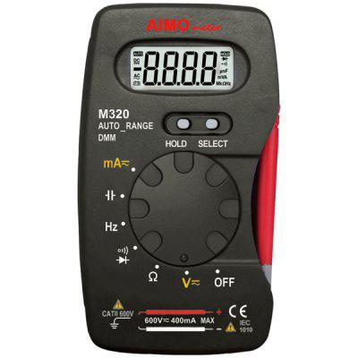 AIMOMETER M320 Digital Multimeter Auto Range 4000 Counts DMM LCD Display with Data Holding