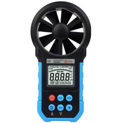 BSIDE EAM02 Digital Anemometer Air Velocity / Volume / Wind Speed / Area Meter