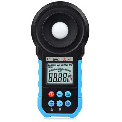 BSIDE ELM02 Digital Light Illuminance Meter ( 20  -  200000Lux ) Auto Range LCD Display
