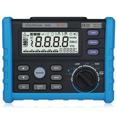 BSIDE ALP01 Loop / RCD Tester Auto Ranging Electrical Inspection / Repair Tool