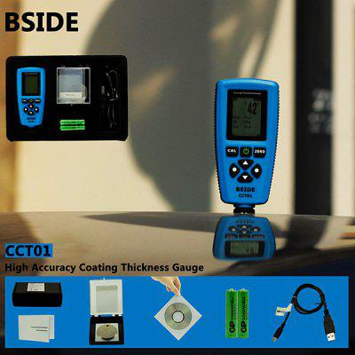 BSIDE CCT01 Coating Thickness Gauge Auto Power Off Low Battery Indication
