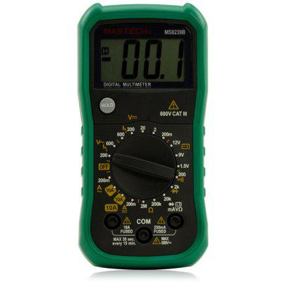 MASTECH MS8239B Digital Multimeter DMM Volt Current Resistance Battery Tester
