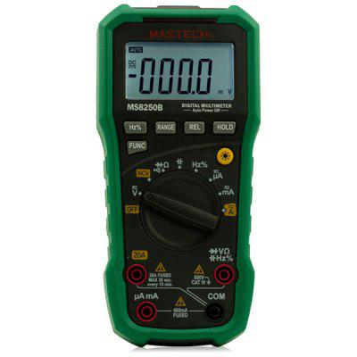 MASTECH MS8250B Digital Multimeter DMM 3999 Counts Non - Contact Voltage Detector