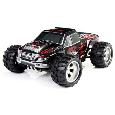 Wltoys A979 1/18 Scale Realistic 4WD 2.4GHz RC Truck Monster Racing 50KMH High Speed Car Model- RED