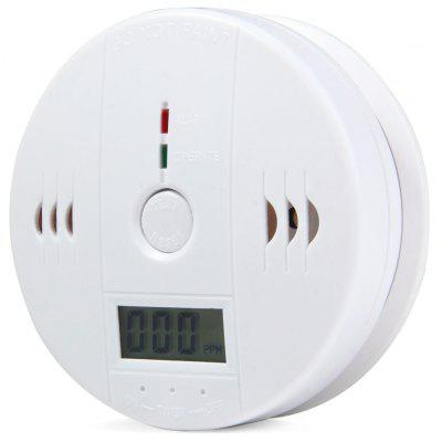 LCD Carbon Monoxide Alarm Gas Detector with LED Light
