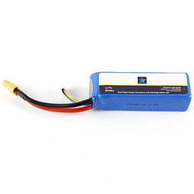 11.1V 2700mAh Li  -  polymer Battery for Cheerson CX  -  20 RC Quadcopter Aeromodelling Spare Parts cx 20 cx20 spare parts remote controller transmitter for cheerson rc cx 20 quadcopter spares wholesale free shipping shuang he
