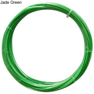 1.75mm Jade Green ABS Filament High Accuracy 3D Printer Accessories  -  10M