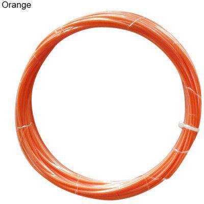 1.75mm Orange ABS Filament High Accuracy 3D Printer Accessories  -  10M