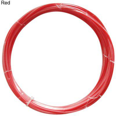 1.75mm Red ABS Filament High Accuracy 3D Printer Accessories  -  10M
