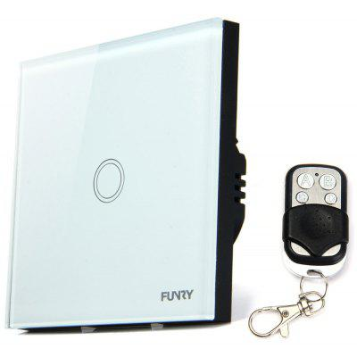 FUNRY Home Touch Remote Switch 1 Gang Intelligent Control Switch  -  EU Standard