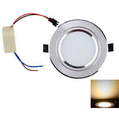 YouOKLight 5W SMD 5630 450Lm 3000K LED Light Recessed Wiring Panel Lamp AC 85  -  265V