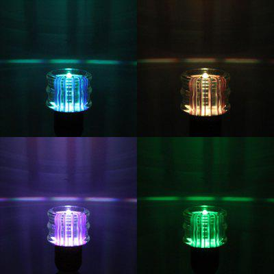 Buy RGB COLOR YouOKLight RGB E27 3W Remote Controlled Crystal Ball Light with Clear Shade for $6.11 in GearBest store