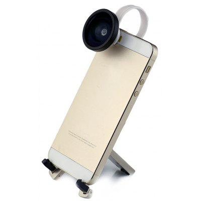 Portable Smart Phone Clip 0.4 Wide Angle Camera Lens for Android / iOS Phone / iPad