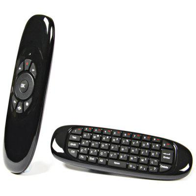 C120 2.4GHz Wireless Air Mouse Remote Controller w/ Keyboard