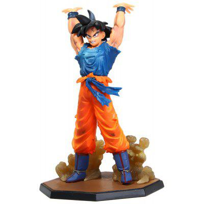 Buy AS THE PICTURE 15.5cm Dragon Ball Son Gokou PVC Action Figure Janpanese Anime Character Model Toy for $10.59 in GearBest store