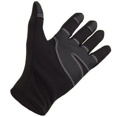 Paired FLL Winter Windproof Full-finger Cycling GlovesCycling Gloves<br>Paired FLL Winter Windproof Full-finger Cycling Gloves<br><br>Color: Black<br>Material: Windstopper Softshell,  Fleeces<br>Package Contents: 2 x Glove<br>Package size (L x W x H): 20.00 x 12.00 x 2.00 cm / 7.87 x 4.72 x 0.79 inches<br>Package weight: 0.1500 kg<br>Product weight: 0.1000 kg<br>Size: S,M,L,XL<br>Style Design: Full Finger