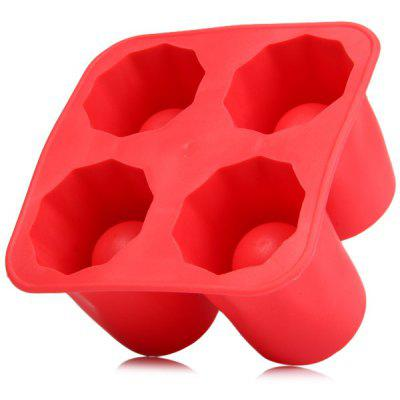Cute Silicone Glass Style Ice Tray / Mold