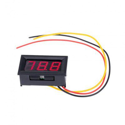 Red LED Mini Digital Voltmeter DC 0  -  99.9V